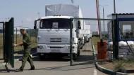 Russland will neuen Konvoi schicken