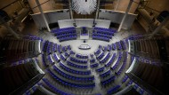 Für Parteiwerbung tabu: Der Plenarsaal des Deutschen Bundestags