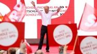 Guter Hoffnung: Olaf Scholz am Freitag in Köln