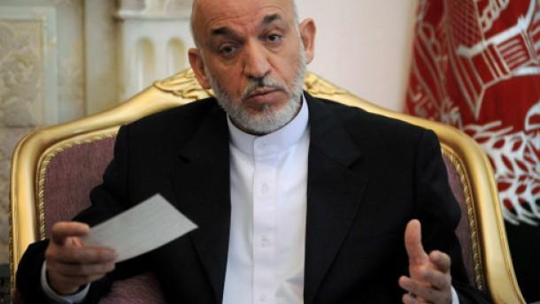 Karzai: Nato-Truppen haben nichts gebracht