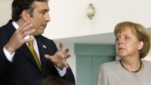 Saakaschwili hofft auf deutsche Vermittlung