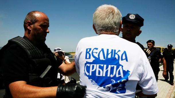 Verletzte an Grenzübergang und in Prishtina
