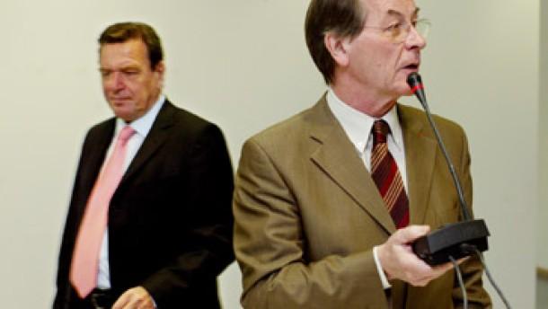 Schröder gibt Müntefering Rückendeckung