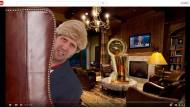 Nowitzki als Trump in einem Youtube-Video.