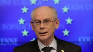 Van Rompuy erhält Karlspreis 2014