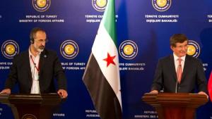 Opposition fordert Drohnenangriffe auf Stellungen Assads