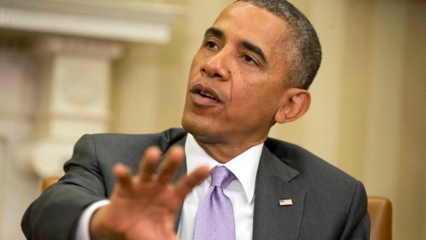 Obama droht mit Militäreinsatz