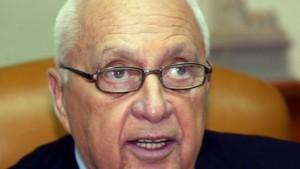 Scharon lehnt Rücktritt ab