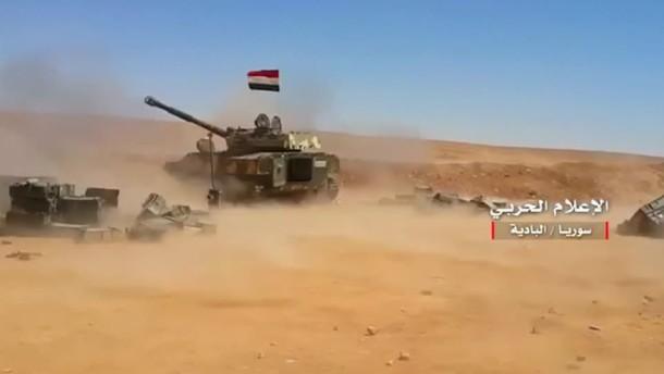 Syrische Armee erobert letzte IS-Hochburg in Provinz Homs
