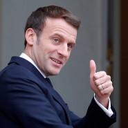 Emmanuel Macron tritt zum ersten Mal auf der Münchner Sicherheitskonferenz auf.