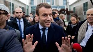 Macron verwundert über Kritik aus Deutschland