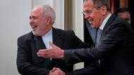 Am 30. Dezember wurde Irans Außenminister Zarif herzlich vom russischen Außenminister Lawrow in Moskau empfangen.