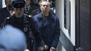 Uljukajew zu acht Jahren Lager verurteilt