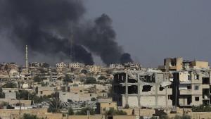 2000 IS-Kämpfer in Raqqa eingeschlossen