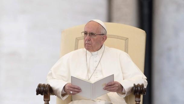 Papst geißelt Profitgier von Unternehmern