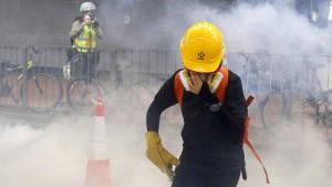 Proteste in Hongkong verschärfen Streit zwischen China und Amerika