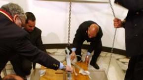 Johannes Paul II. beigesetzt