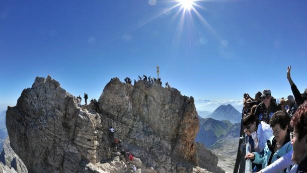 Hybris im Klettersteig