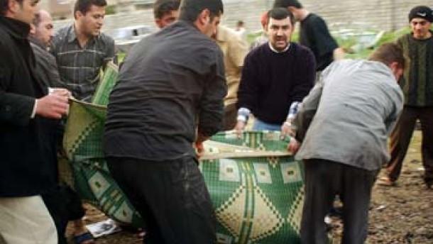 Selbstmordanschlag in irakischer Moschee