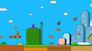 """Das Spiel """"Super Mario World"""" in den neunziger Jahren"""