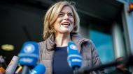 Da sah sie noch Jamaika vor Augen: die stellvertretende CDU-Vorsitzende Julia Klöckner am 17. November in Berlin vor der finalen Sondierungsrunde.