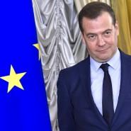 Bleibt Parteichef: Dimitrij Medwedjew, ehemaliger Minister- und Staatspräsident Russlands