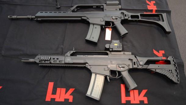 Heckler & Koch soll G36 illegal verkauft haben