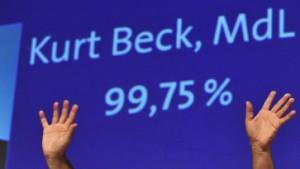Beck erhält in Mainz 99,75 Prozent