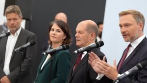 Ampel-Parteien verständigen sich auf umfassende Reformprojekte