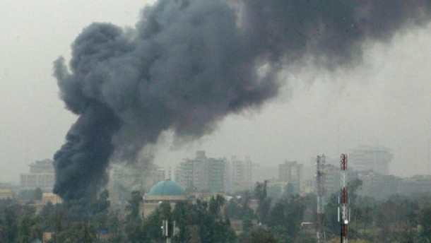 Raketenangriffe auf Grüne Zone in Bagdad