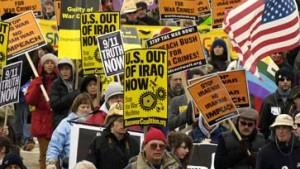 Zehntausende Amerikaner demonstrieren gegen Irakkrieg