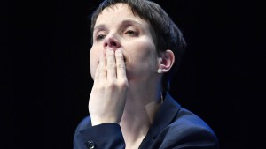 Frauke Petry soll Immunität verlieren