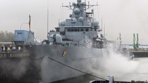 Mehr als 1000 deutsche Soldaten gegen Piraten