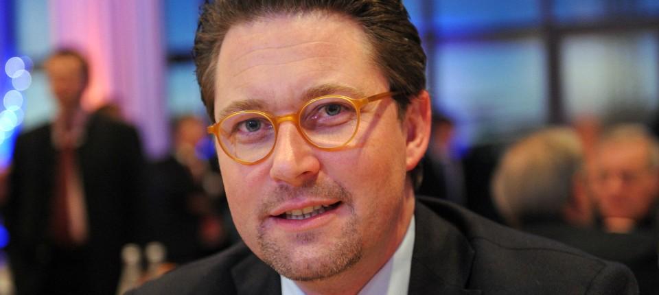 csu generalsekretr andreas scheuer - Andreas Popp Lebenslauf