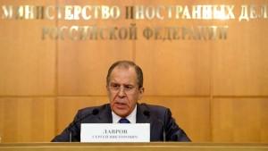 Russland rügt Ausladung Irans