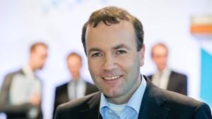 Europapolitiker Weber steigt auf