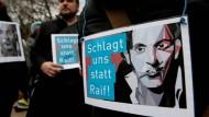 Prügelstrafe für Blogger Badawi wieder ausgesetzt