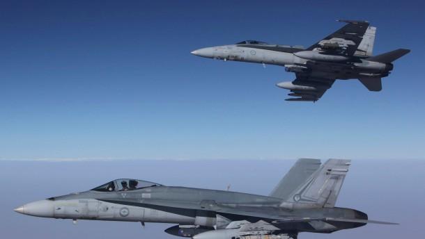 Australische Luftwaffe fliegt ersten Einsatz in Syrien