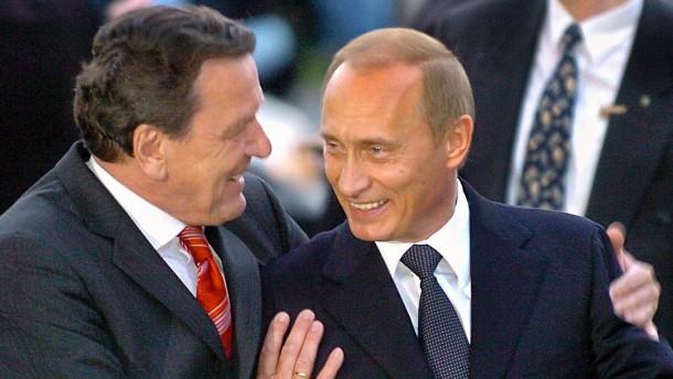 Altkanzler Schröder verteidigt russische Annexion der Krim