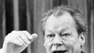 """Aktion gegen Willy Brandt"""