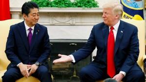 Trump bietet Japan 25 Millionen Mexikaner an
