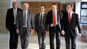 Müntefering: Der Kampf ums Kanzleramt ist offen