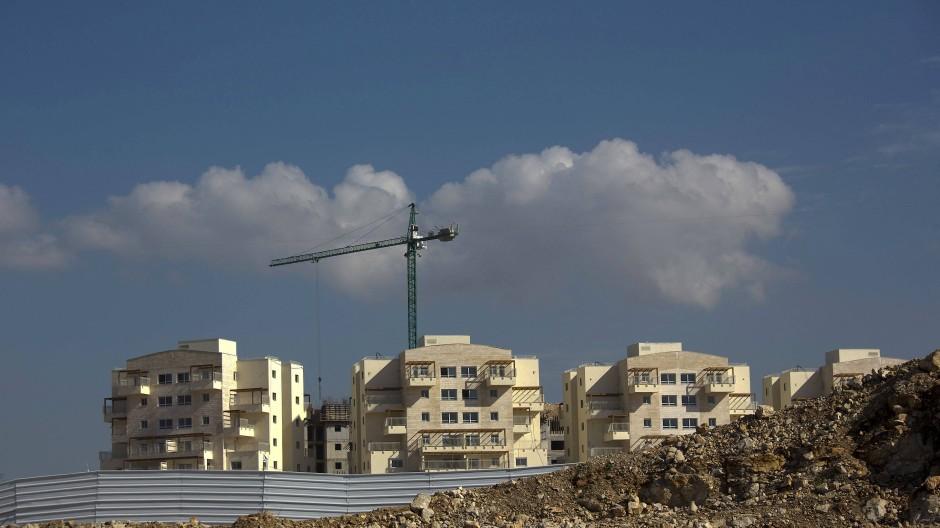 Gebaut wird immer: Ein neues, jüdisches Siedlungsprojekt entsteht im Westjordanland.