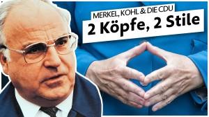 Wie Merkel und Kohl die CDU führten