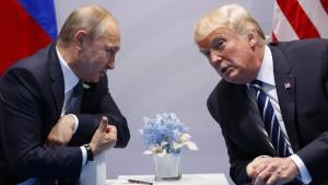 Trump soll Putin nach Washington eingeladen haben