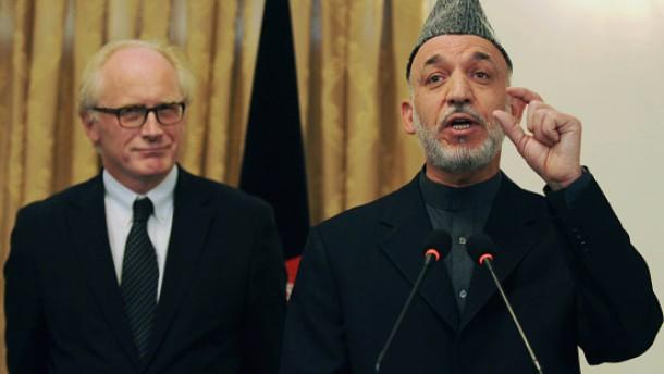 Ein vergiftetes Lob für Karzai