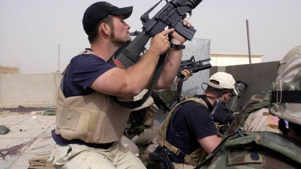 Schwere Vorwürfe gegen Blackwater-Söldner im Irak