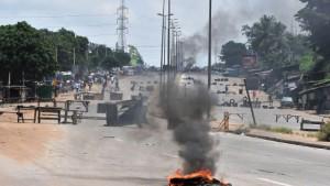 Schwere Kämpfe in Abidjan