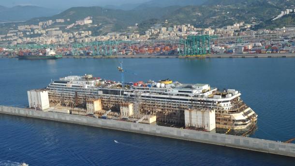 Letztes Opfer im Wrack der Costa Concordia entdeckt