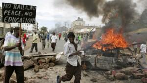 Kibaki kämpft um den Machterhalt